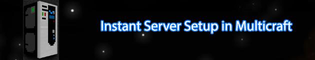 instant server setup