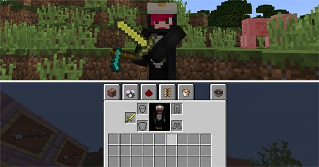 Minecraft Snapshot 15w31a dual wielding